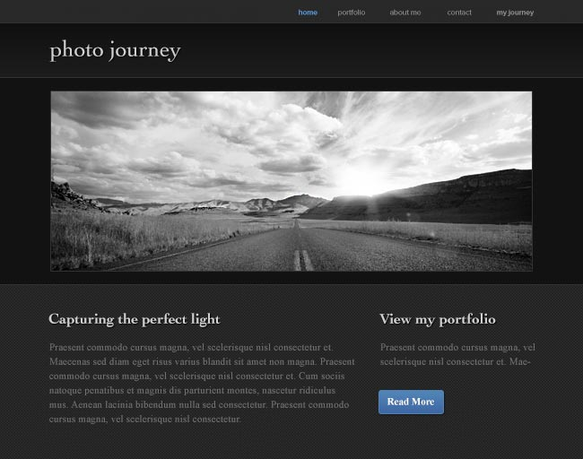 Journey - Built with Weebly